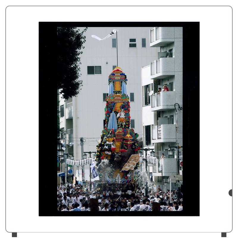 見事な13m飾り山笠